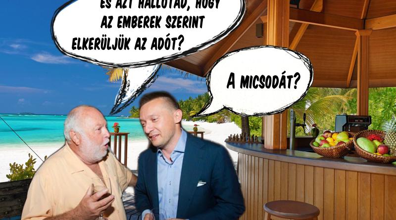 Az embereknek Andy Vajna és Rogán Antal jut eszébe az adóelkerülésről